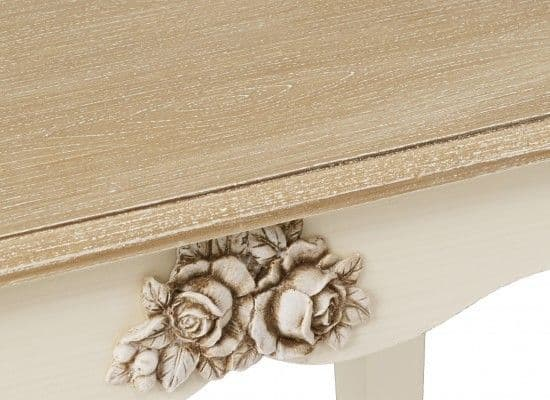 Rennes Soft White And Cream Console Table 17LD378